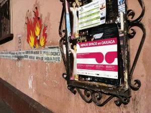 MINUS SPACE en Oaxaca Poster